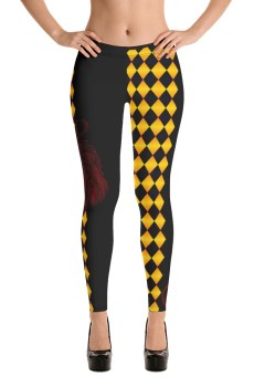 "Zoo Lion Edition ""Arlequin Queen"" - Leggings Casual Femme"