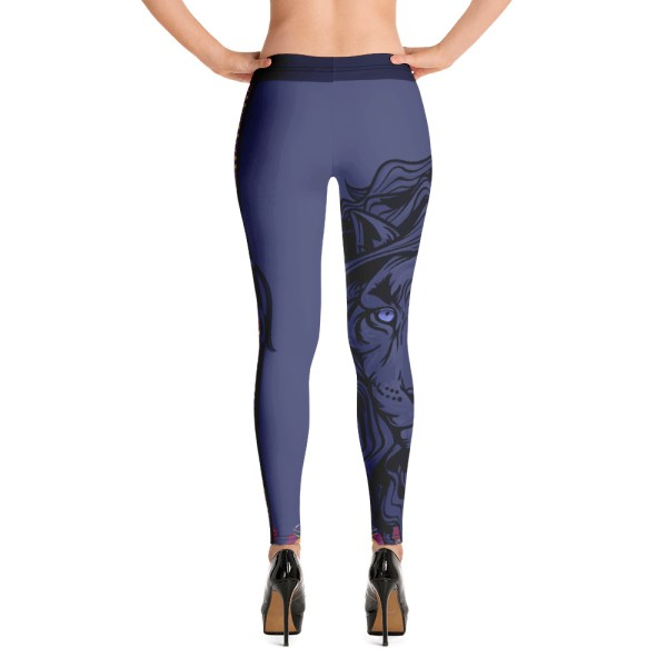 "Zoo Lion Edition ""Grey Queen"" - Leggings Casual Femme"