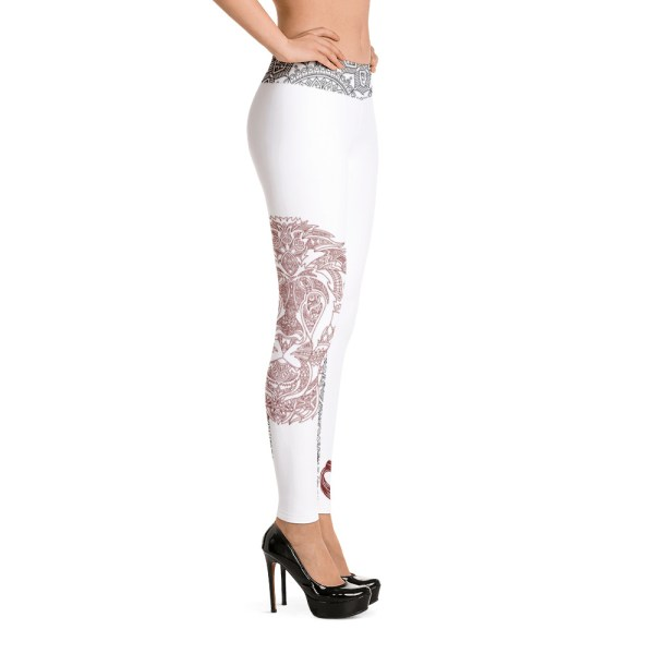 "Zoo Lion Edition ""Red Queen"" - Leggings Casual Femme"