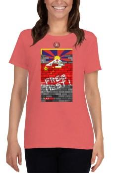 Ruina Imperii : Free Tibet ! - T-shirt pour Femme