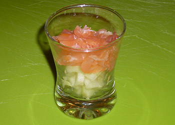 vérinne pomme saumon