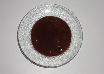 crème choco framboise