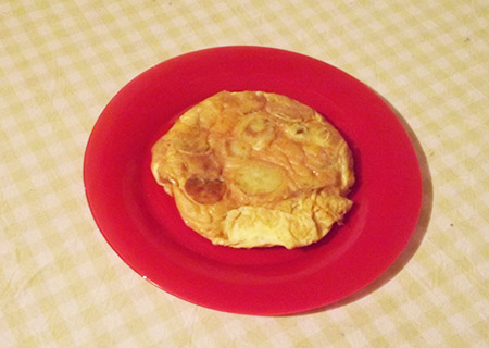 Omelette aux patates
