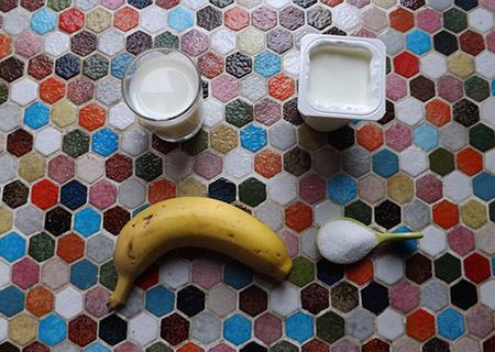 Smoothie banane ingrédient