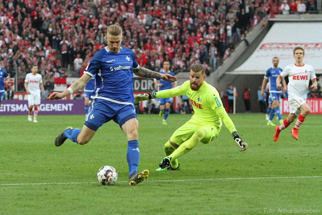 Felix Platte, SV Darmstadt 98 - zu Markus Anfang