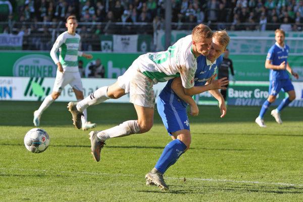 Fabian Holland, SG Greuther Fürth gegen SV Darmstadt 98