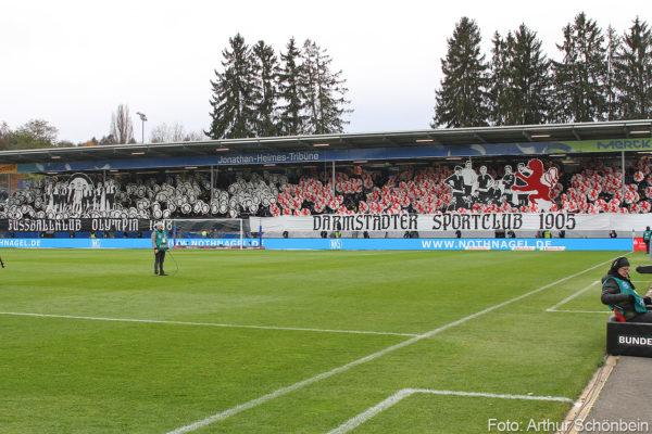 SV Darmstadt 98 gegen Arminia Bielefeld