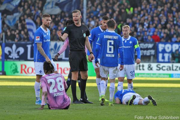 SV Darmstadt 98 gegen HSV