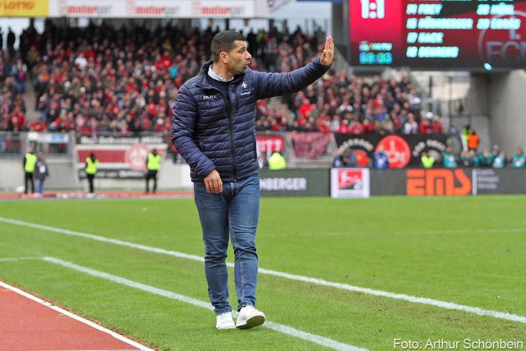 Dimitrios Grammozis, 1.FC Nürnberg - SV Darmstadt 98