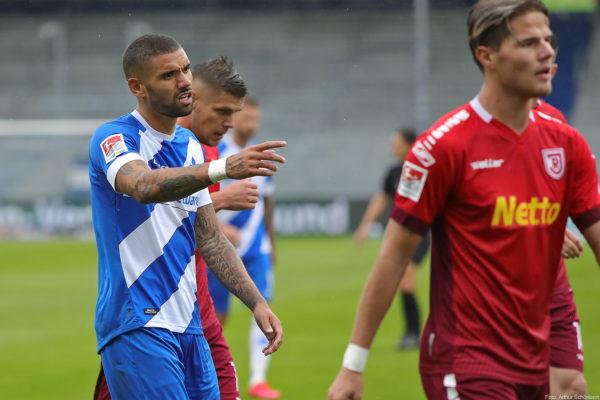 Victor Pálsson, SV Darmstadt 98 - Jahn Regensburg