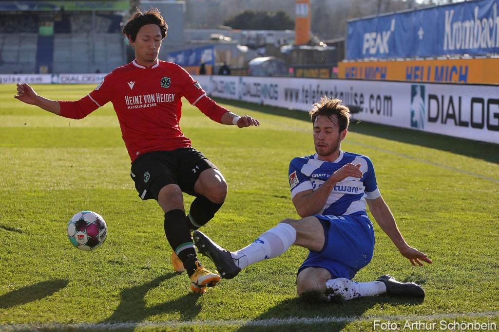 Mathias Bader, SV Darmstadt 98 - Hannover 96