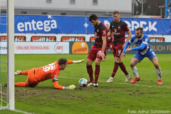 Rückpass, SV Darmstadt 98 - 1. FC Nürnberg