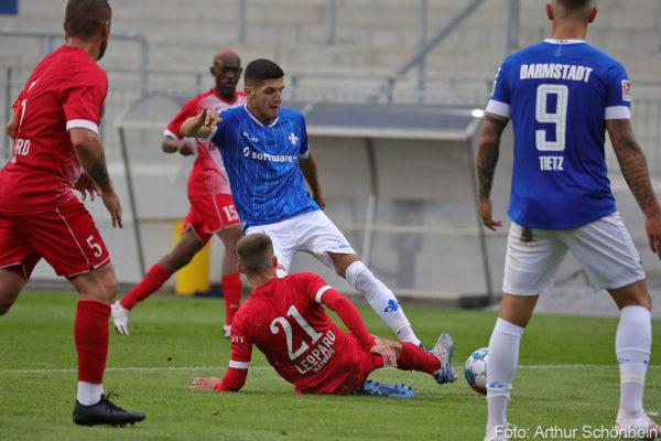 Emir Karic, SV Darmstadt 98 - FC Swift Hesperingen - Testspiel