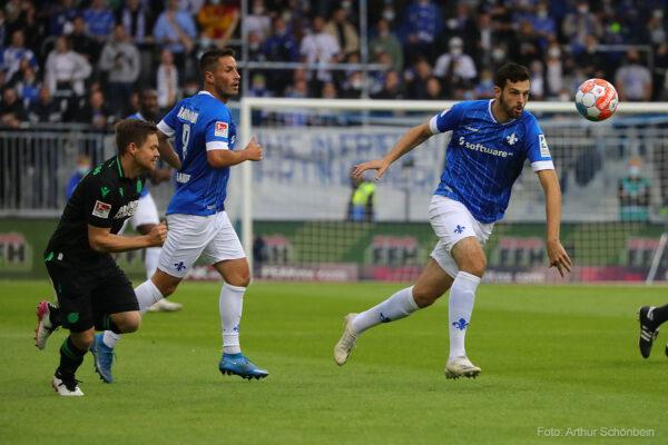 Luca Pfeiffer, Phillip Tietz, SV Darmstadt 98 - Hannover 96