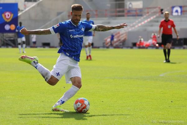 Tobias Kempe, SV Darmstadt 98 - Dynamo Dresden