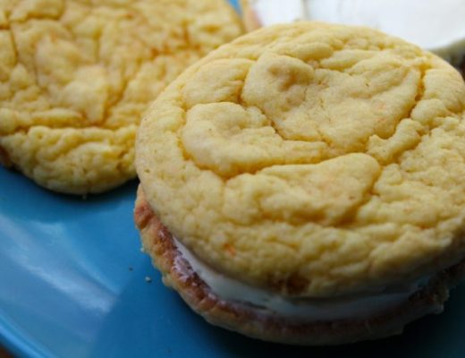 Cake Cookie Sandwiches