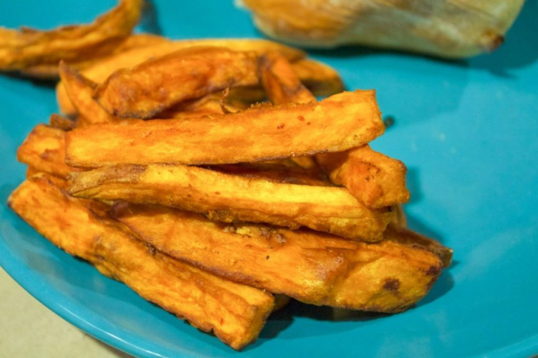 Sliders and Sweet Potato Fries