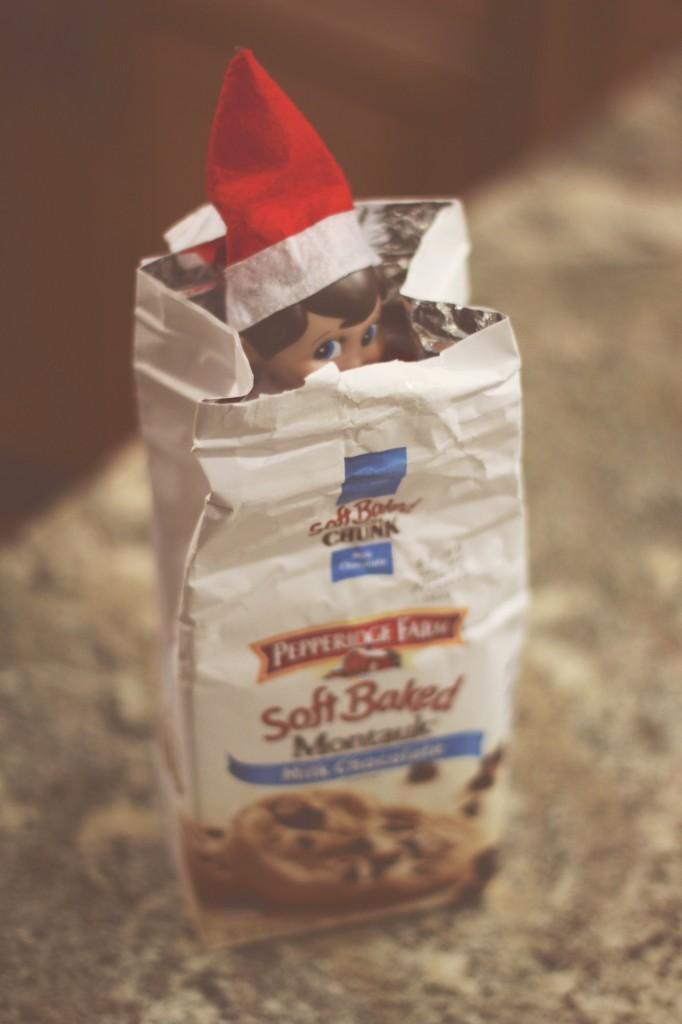 Elf on the Shelf: Cookies for Breakfast