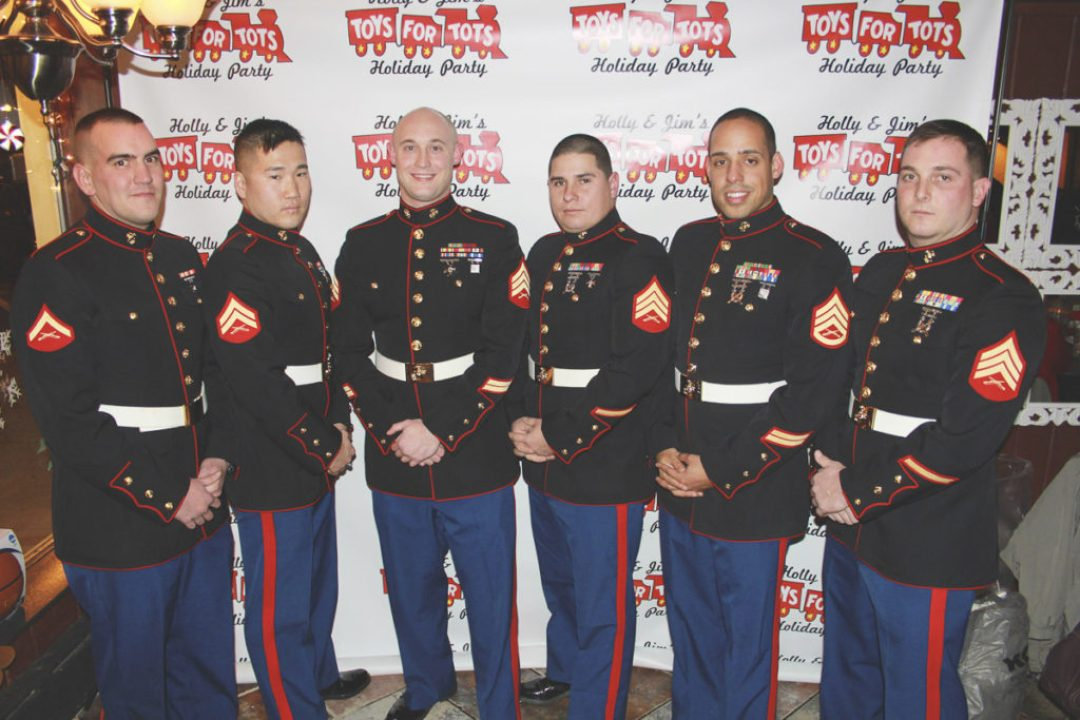 Toys for Tots Photo Booth
