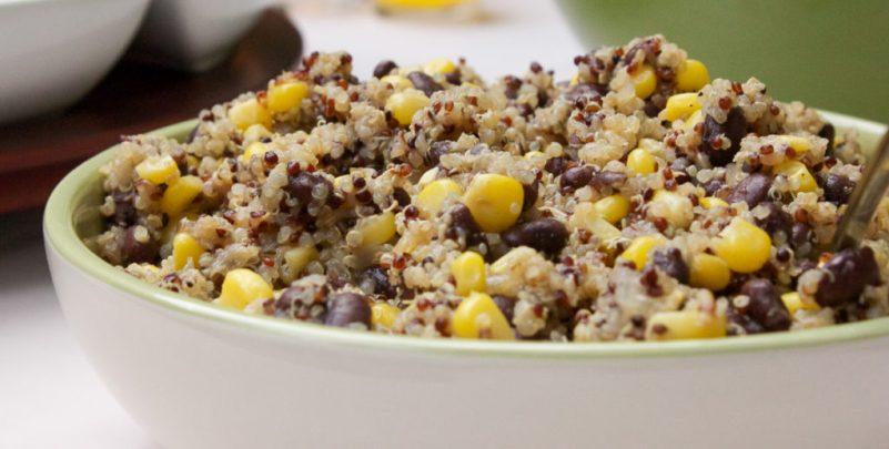 Quinoa and Black Bean Corn Salad