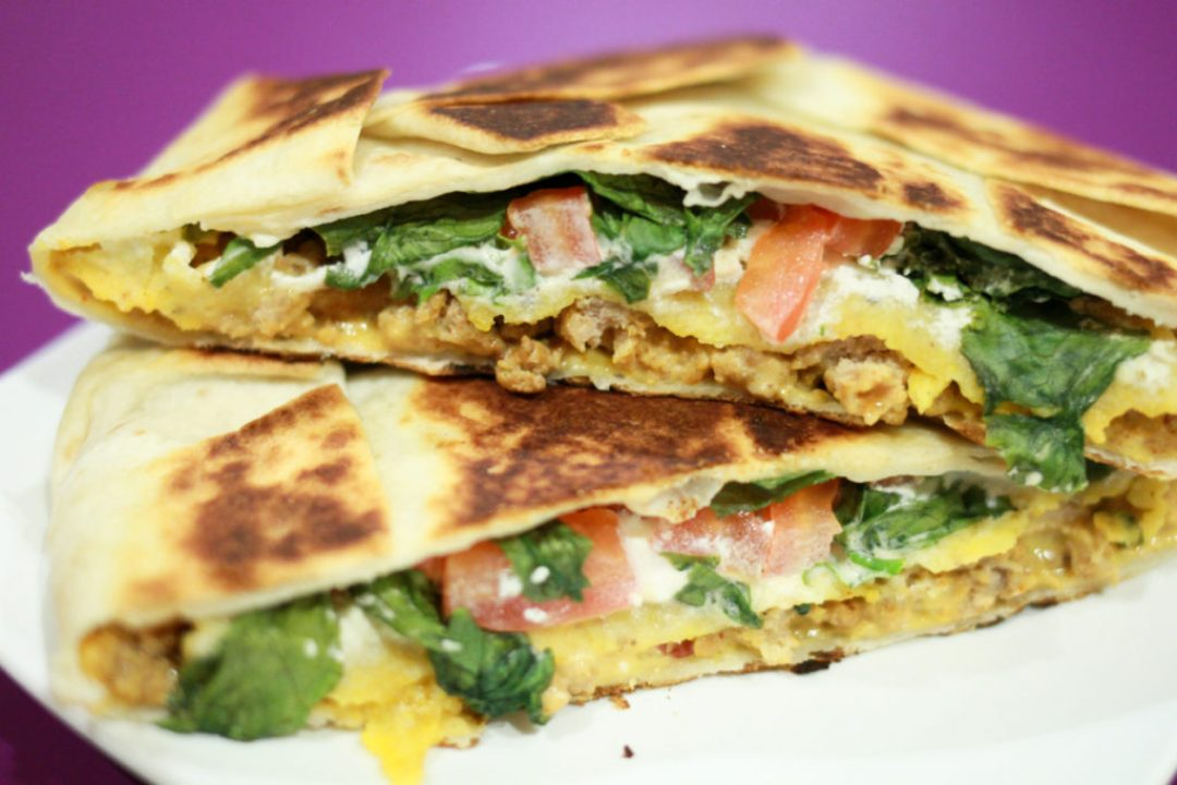 Homemade Crunchwrap Supreme