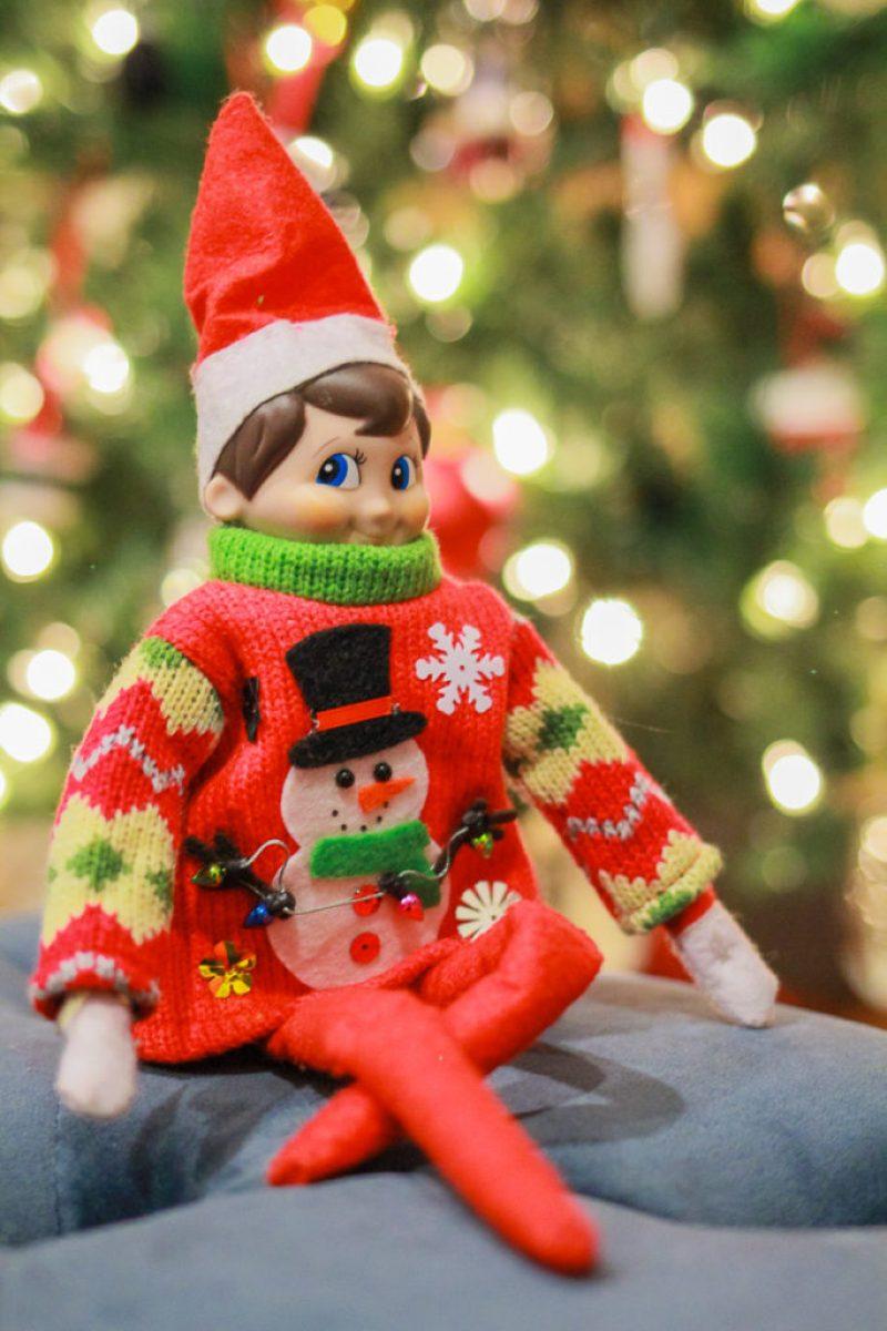 Elf on the Shelf: Sweater Weather