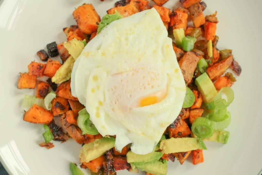 Vegetarian Sweet Potato Hash