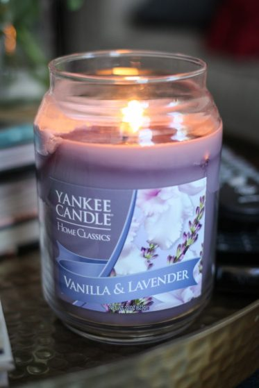 Lavender and Vanilla Yankee Candle