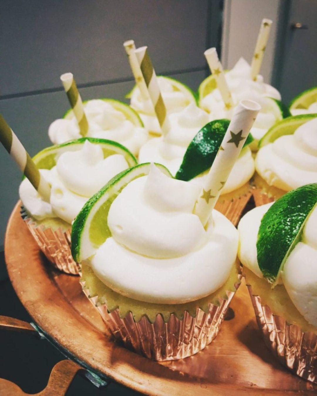 Margarita Cupcakes using Leftover Buttermilk