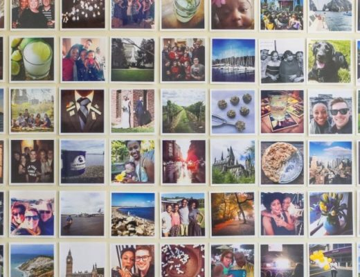 DIY Instagram Photo Collage