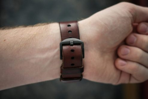 Bexar Apple Watch Leather Band