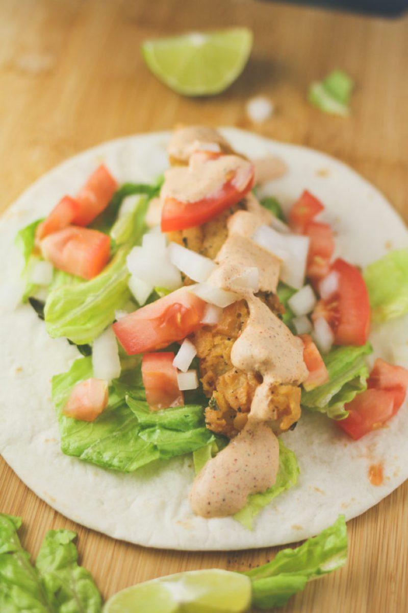 Southern Fried Fish Tacos