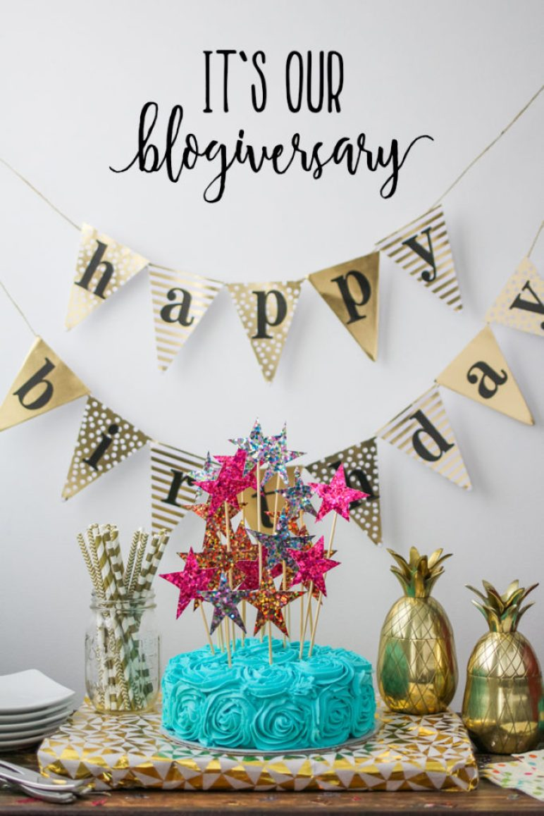 Celebrating our Blogiversary
