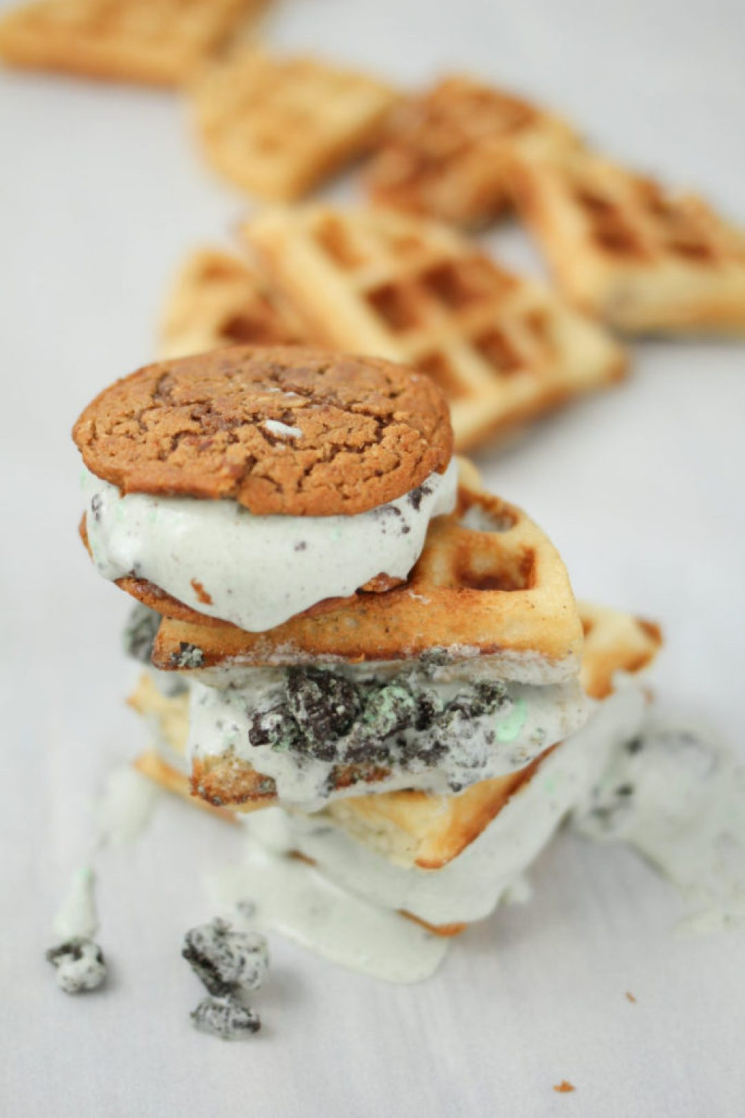 Mint Cookies and Cream Ice Cream