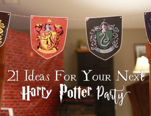 21 DIY Harry Potter Party Ideas