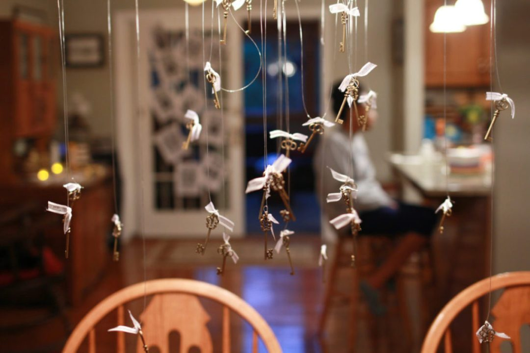 DIY Flying Keys