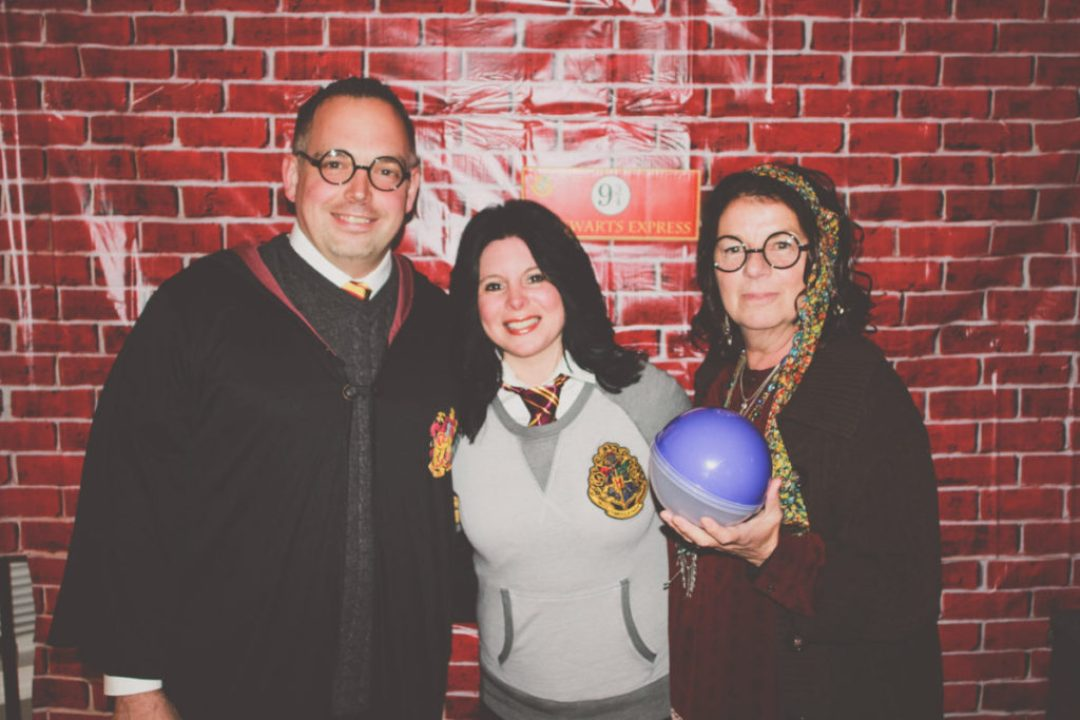 Harry Potter, Student, and Trelawney