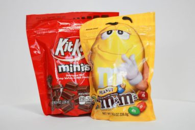 KitKats and M&Ms