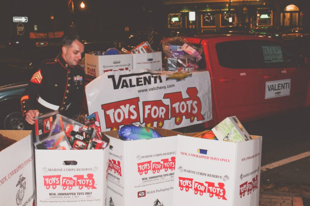 Toys for Tots Collection Party