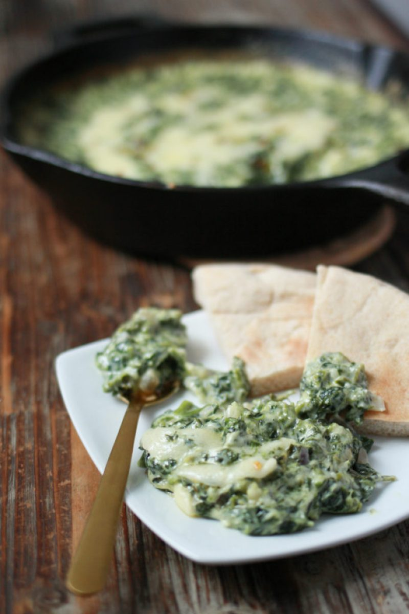 Cheesy Baked Spinach Dip