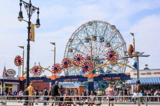 Coney Island in New York City