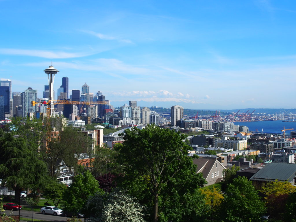 Kerry Park in Seattle