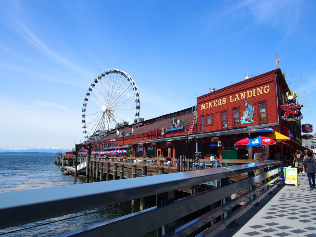 Seattle waterfront