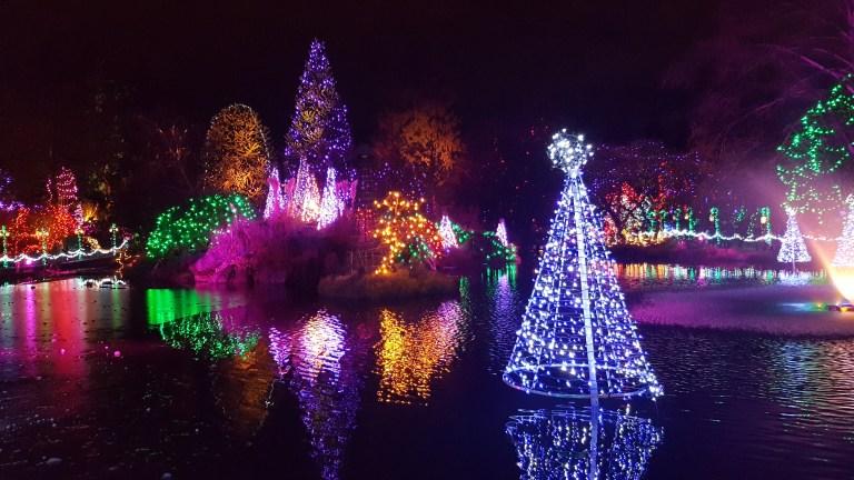 Les illuminations de Noël à Vancouver: 2ème partie