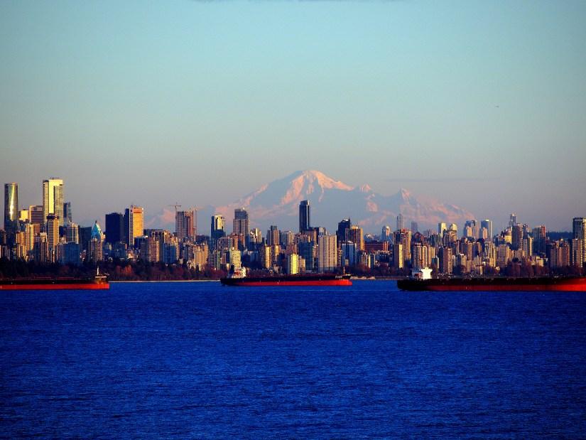 Vancouver et le Mont Baker