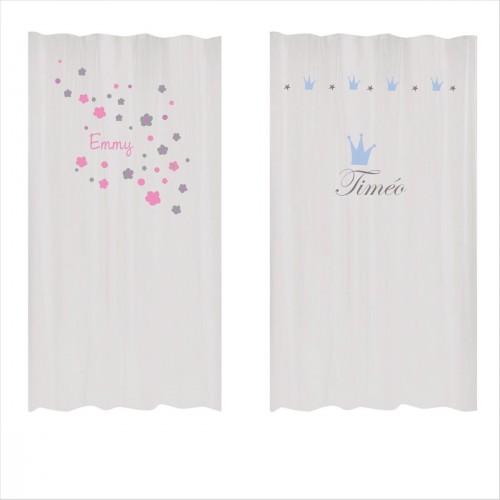 rideaux lili pouce tapis stickers