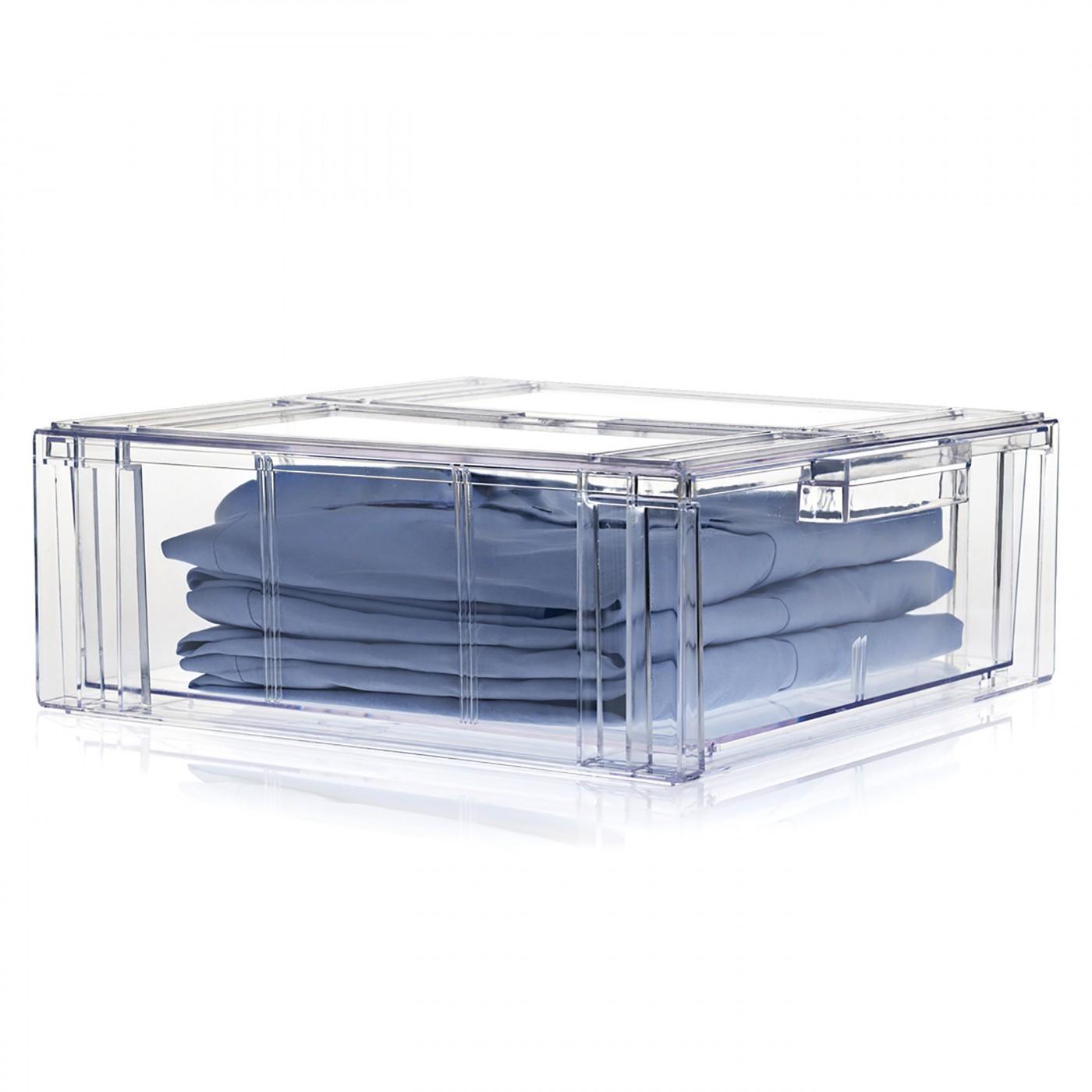 boite de rangement transparente a tiroir clear drawer n 3 nomess copenhagen