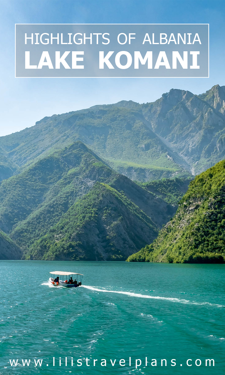 HIGHLIGHTS OF ALBANIA - A day at Lake Komani