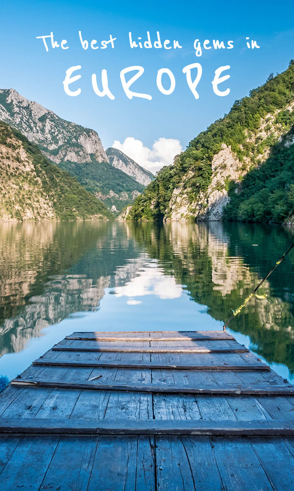 Hidden gems in Europe - Lake Komani, Albania - Best unique places to visit