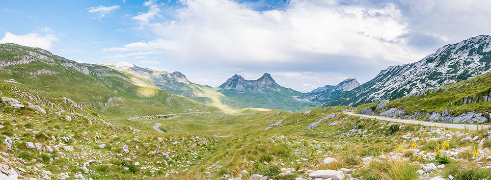 Hidden gems in Europe - Piva Canyon and Durmitor national park, Northern Montenegro - Best unique places to visit